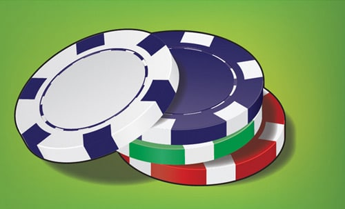 How to Create a Stack of Poker Chips