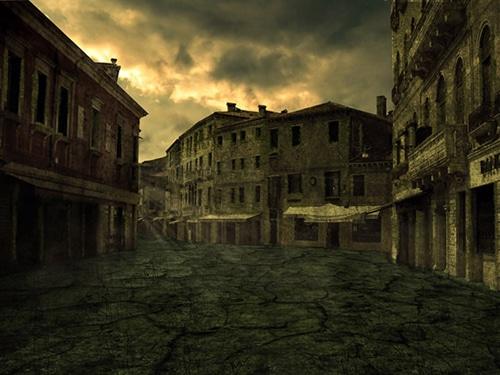 Easy Way How To Create Forsaken Street Photo Manipulation