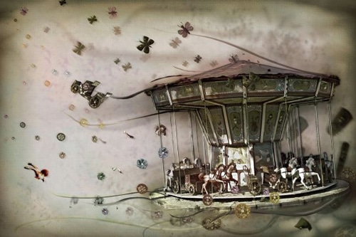 Photoshop Tutorial: The Making of Merry Go Wild