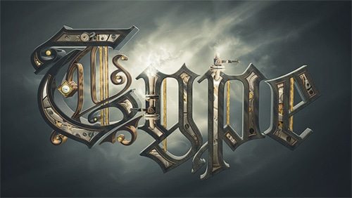 Create a Steam Powered Typographic Treatment – Part I