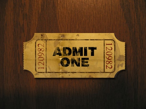 Create a Realistic and Worn-Out Movie Ticket in Photoshop