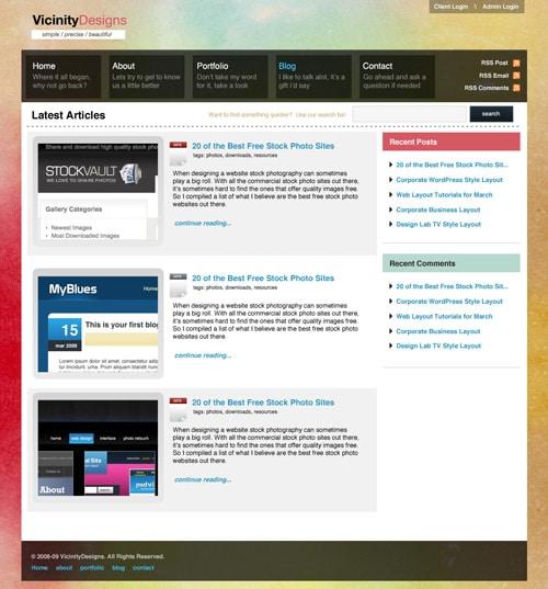 Web Layout Designs 60 Must Have Tutorials Designrfix Com