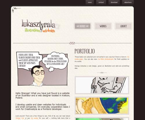 http://www.lukasztyrala.pl/