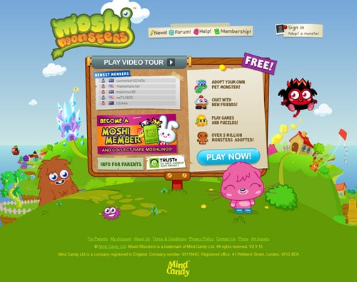 http://www.moshimonsters.com/