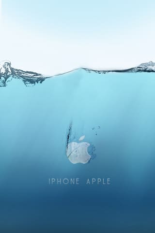 Apple Underwater Logo