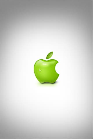 Real Macintosh Apple Logo