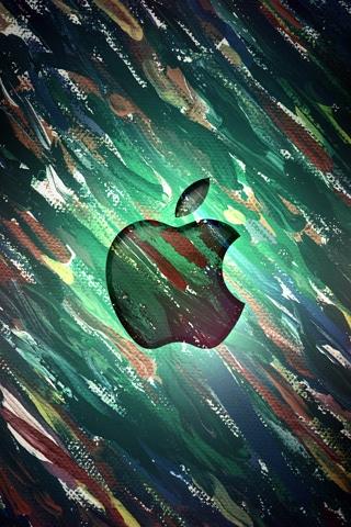 Apple Brush Strokes