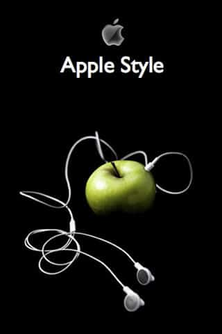 Apple Style iPhone Wallpaper