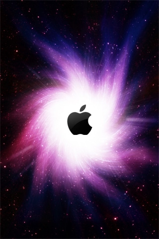 Apple Galaxy iPhone Wallpaper
