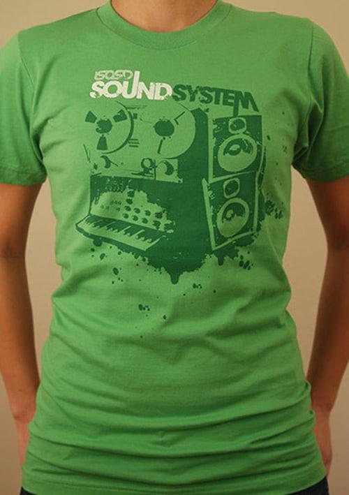 'Sound System' Tshirt girls