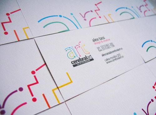 Cerebral Art Business Card