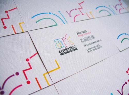 Cerebral Art Business Card