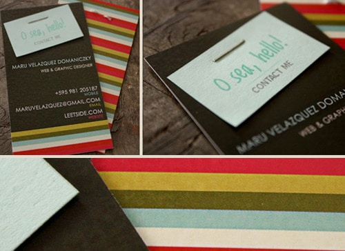 Maru Personal Business Card