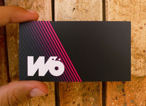 Wö Business Card