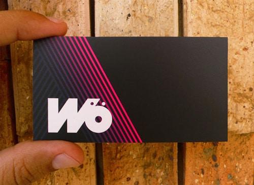 Wö Business Card