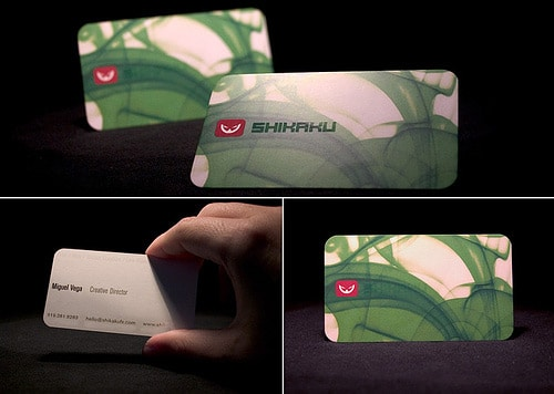 Shikaku Business Cards