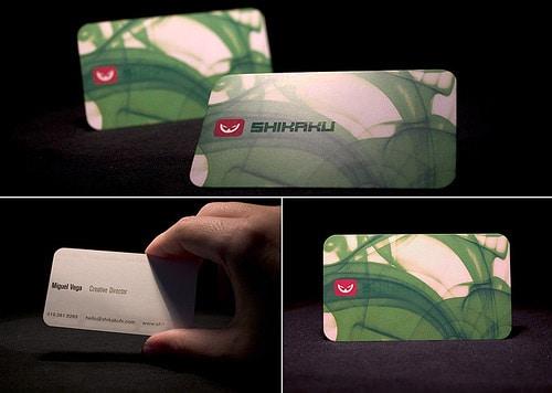 Shikaku Business Cards
