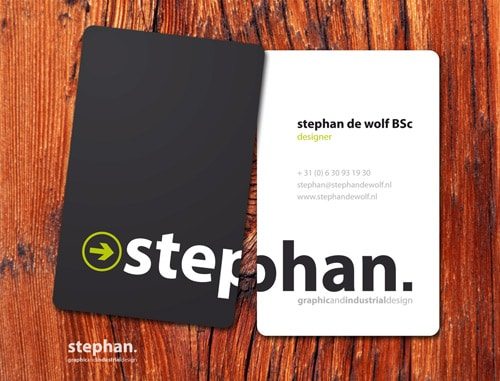 Business card by Stephan