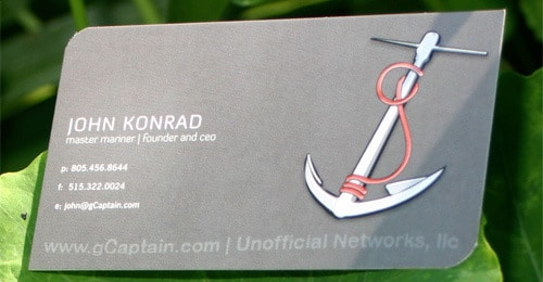 gCaptain Business Card