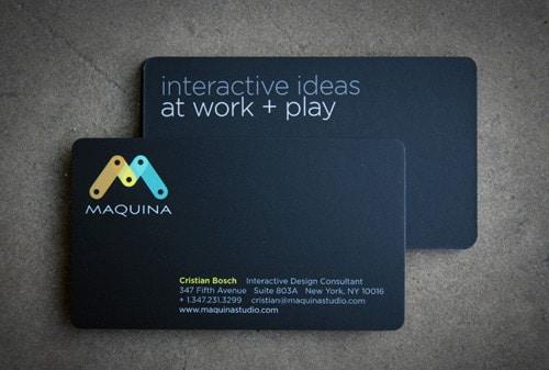 Maquina Design Business Card