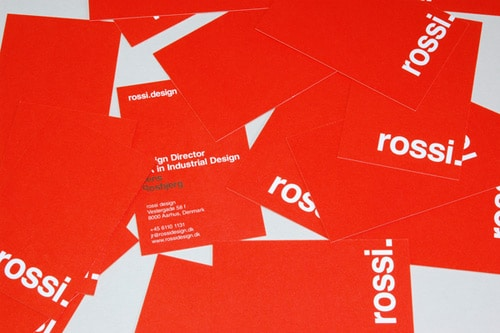 rossi.design by Sebastian Gram