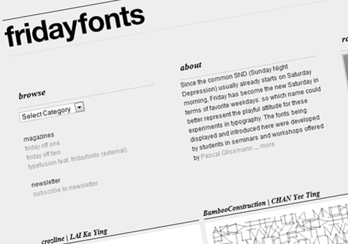 fridayfonts.com