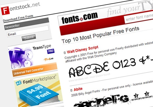 Font Selection: An Important Step to Your Company's Success