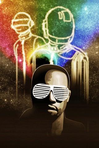 Kanye West x Daft Punk