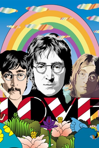 The Beatles - John Lennon Vector