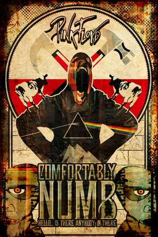 Pin Floyd - Comfortably Numb Poster