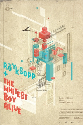 Royksopp + The Whitest Boy Alive