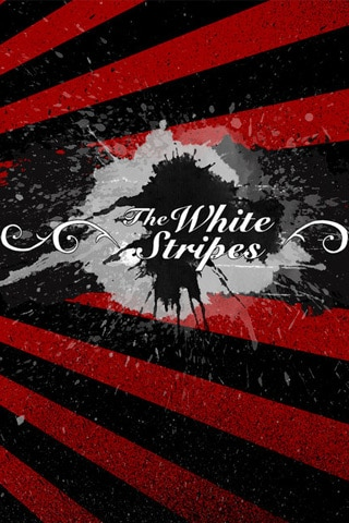 The White Stripes Vector Portrait