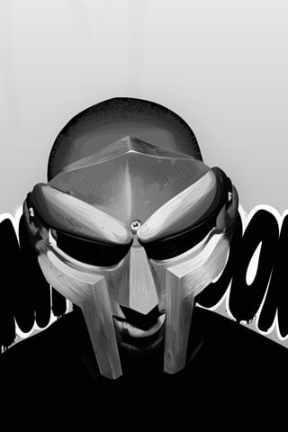 MF Doom - Fan Art