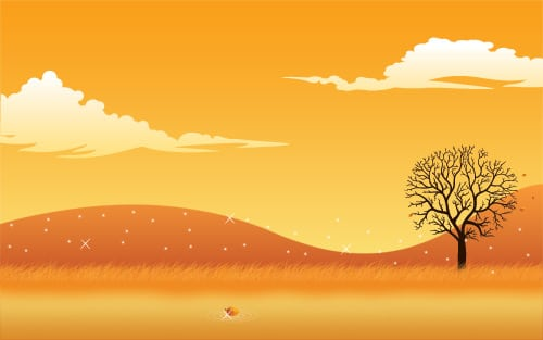 Create a Simple Autumn Scene in Photoshop