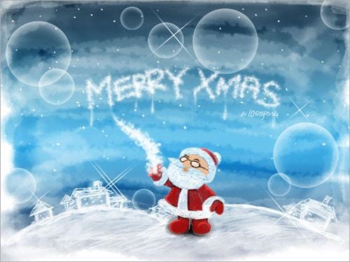 Make a Sketchy Wallpaper for this Christmas