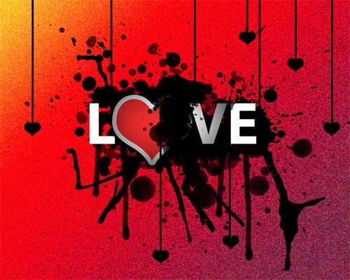 Love wallpaper for your desktop