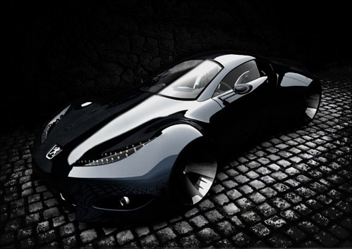 How to Create a Dark Car Scene in Photoshop
