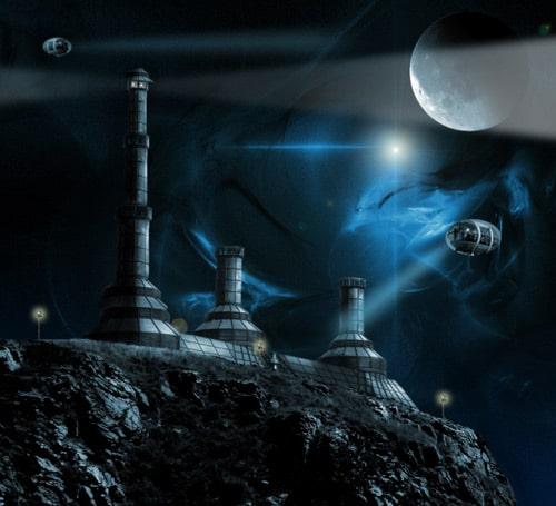 Photoshop Tutorial: How To Create a Futuristic Sci-Fi Scene