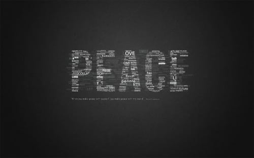 How To Create Great Typographic Wallpaper In Photoshop
