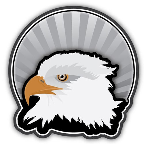 How to Create an Eagle Head Sticker