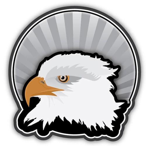 How to Create an Eagle Head Sticker