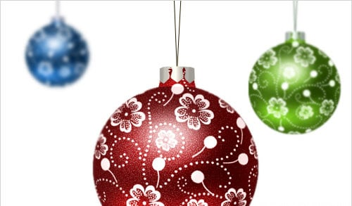 Create Your Own Christmas Balls