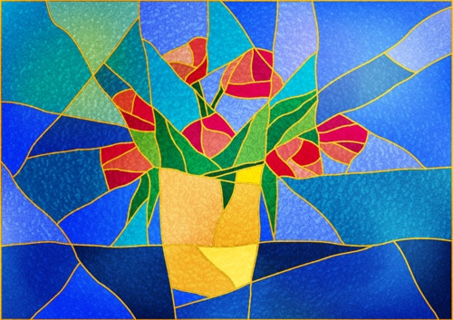 How to Create a Stained Glass Effect in Illustrator