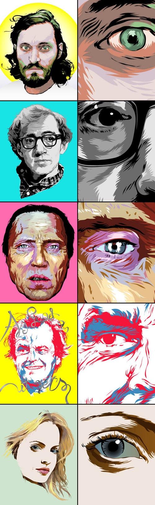 Vector Movie Posters by Grzegorz Domaradzki