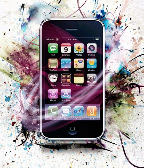 iphone3 design update by Driss tribech