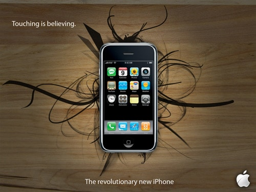 iPhone Ad by aknowles