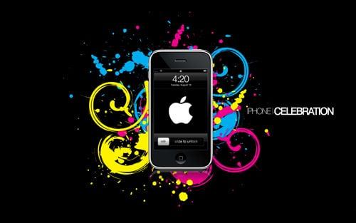 iphone celebration by saeed33