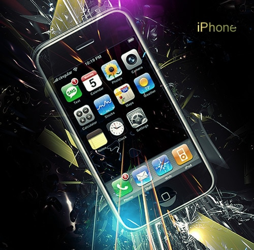 iPhone LP by jimmyyo