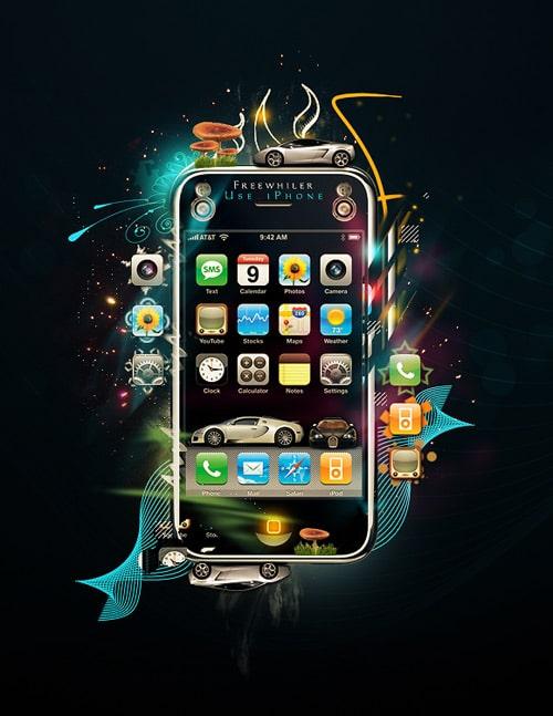 Use iPhone by Kristoffer Hagen