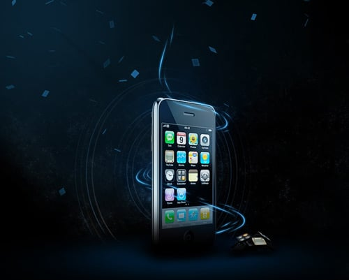 iPhone by Roy Hoes